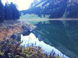 Bergseefeeling am Voralpsee oberhalb Grabs