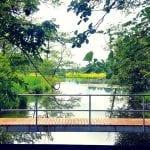 Brücke im Bad Egelsee