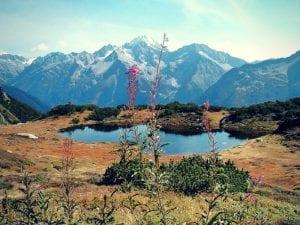 Das Sunnig Grat Seeli im Kanton Uri
