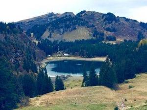 Der Lac des Chavonnes in Ormont-Dessous