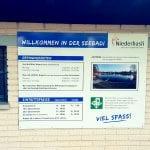 Eintritt in die Seebadi Niederhasli