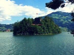 Insel Schwanau im Lauerzersee
