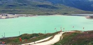 Lago Bianco auf dem Bernina-Pass