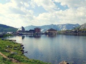 Lago della Piazza auf dem Gotthardpass