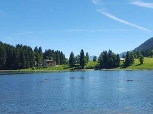 Obersee mit dem Berghotel