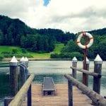 Sprungbrett in den Bichelsee