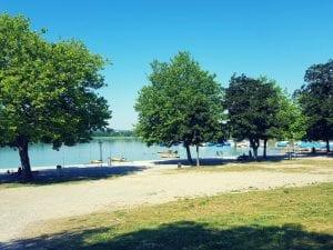 Uferpromenade in Pfäffikon am Pfäffikersee