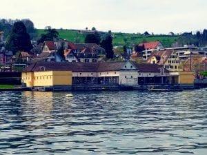 Bretterbadi Wädenswil Zürichsee