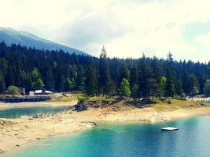 Strandbad Caumasee in Flims