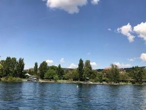 Strandbad Tiefenbrunnen Zürichsee