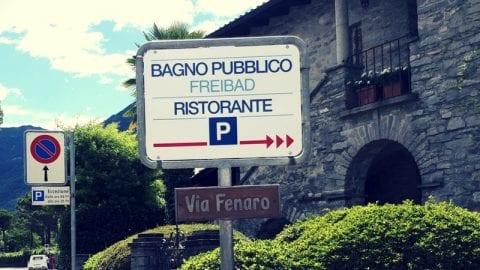 Alle seen im kanton tessin - Bagno pubblico ascona ...