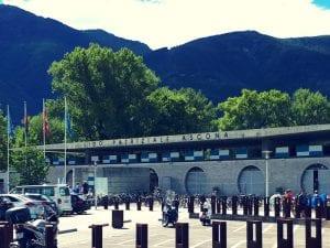 Eingang zum Lido von Ascona
