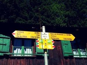 Wegweiser Arnenseerundweg