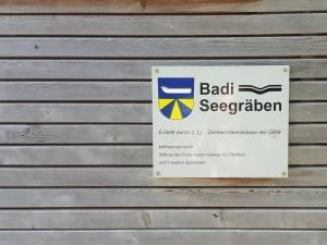 Badi Seegräben am Pfäffikersee