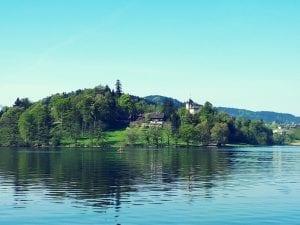 Buonas Schloss Halbinsel