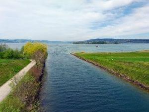 Seedamm Kanal Hurden