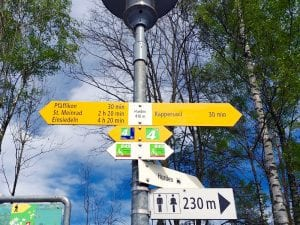 Wanderweg Pfäffikon Hurden Rapperswil