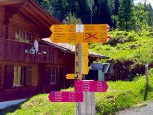 Griesalp Wanderung