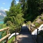 Wanderweg Giessbachfall
