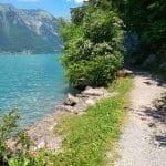 Wanderweg Iseltwald Giessbach